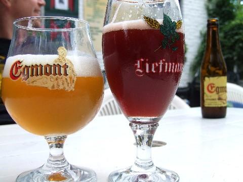 Een biertje drinken in deIJzerkotmolen
