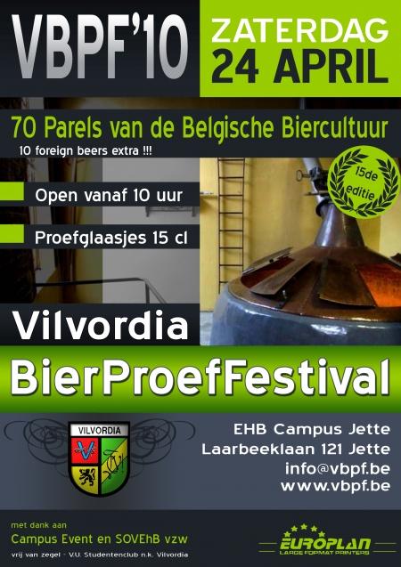 Vilvordia BierProefFestival 2010